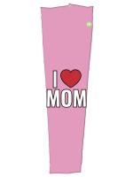 I heart mom pink sleeve